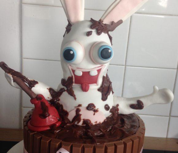 Gâteau choc pour une soirée «chic et choc»