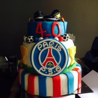 """Pour des 40 ans, thème """"PSG"""""""
