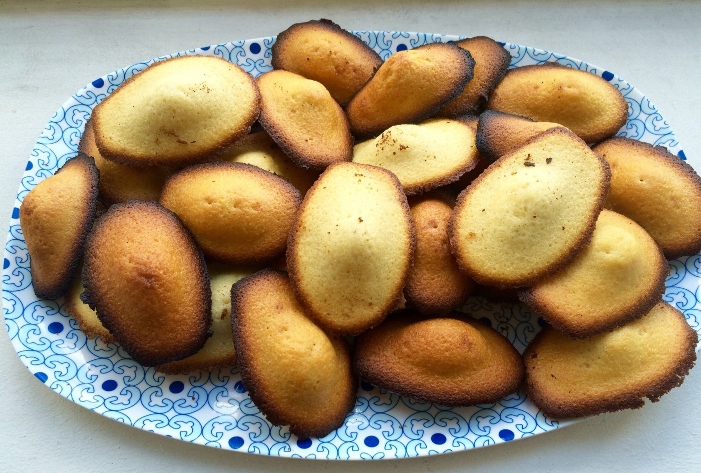 Les madeleines aux pépites de chocolat