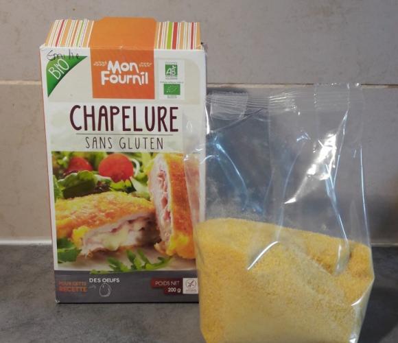 J'ai testé pour vous la Chapelure Sans Gluten «Mon Fournil»