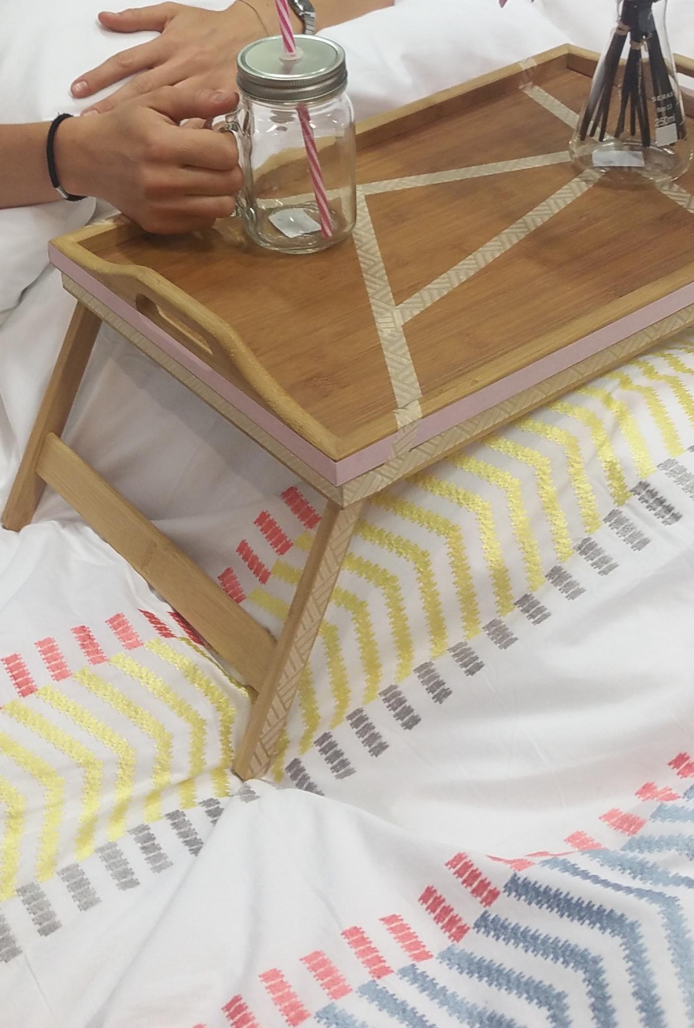 J'ai testé pour vous plateau lit bambou Zeller