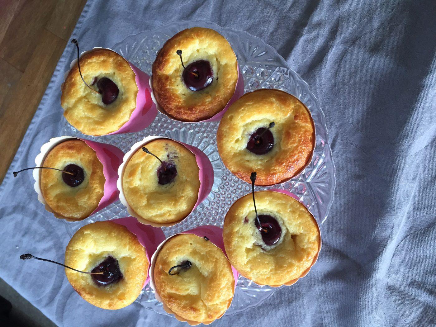 Muffins Cerise/Ricotta