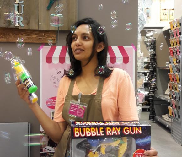 J'ai testé pour vous le pistolet à bulles de TOBAR FRANCE