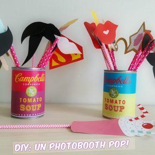 DIY: un photobooth pop et estival!