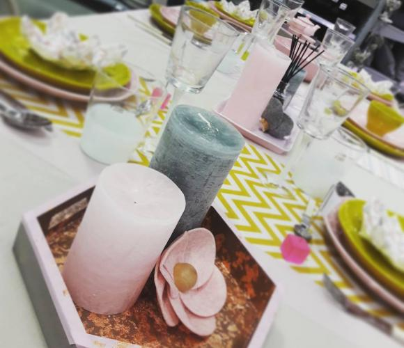 Le rayon «Table et Recevoir» est sur Instagram