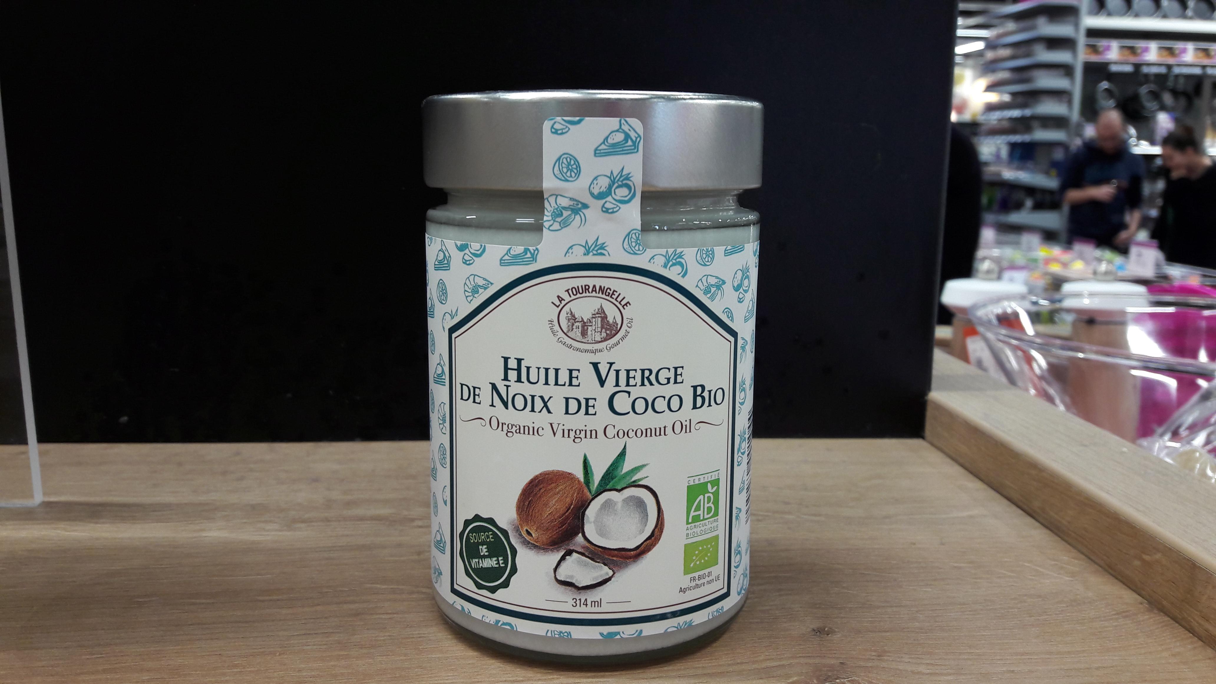 j 39 ai test pour vous l 39 huile vierge de noix de coco bio la tourangelle blog z dio. Black Bedroom Furniture Sets. Home Design Ideas