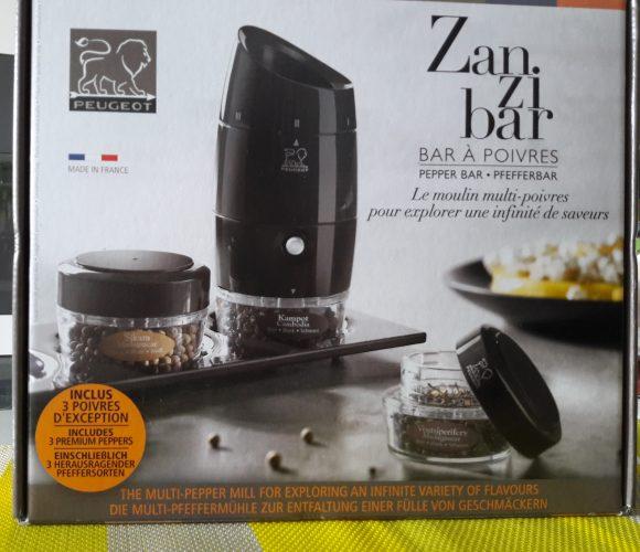 J'ai testé pour vous le coffret moulin à poivre Zanzibar