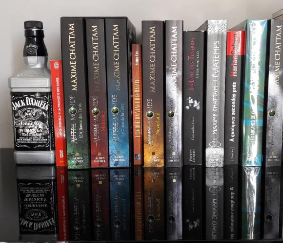 Serres livres «Jack Daniels»