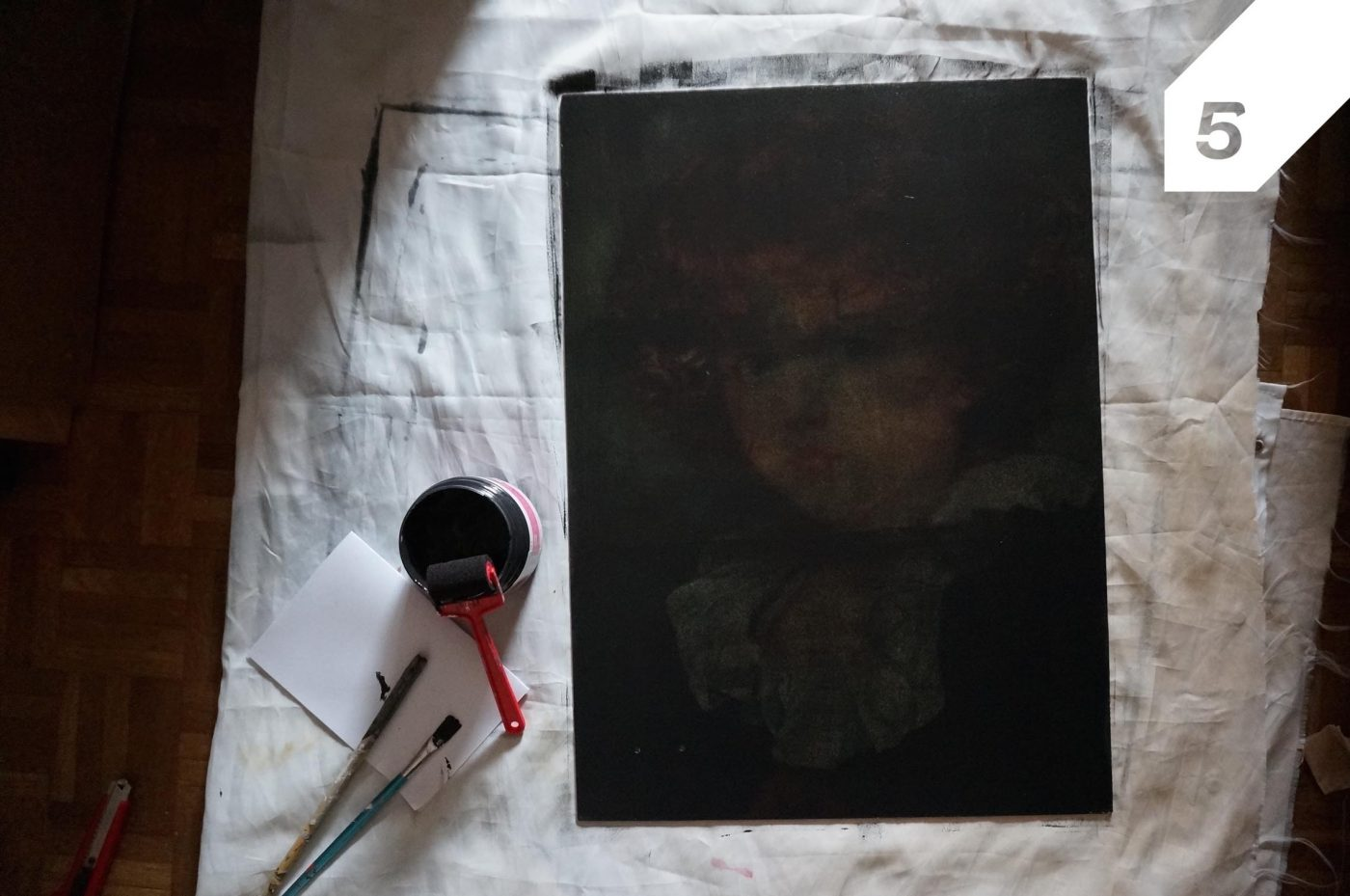 Nettoyer Un Vieux Tableau diy: réalisez un tableau ardoise avec un vieux tableau (blog