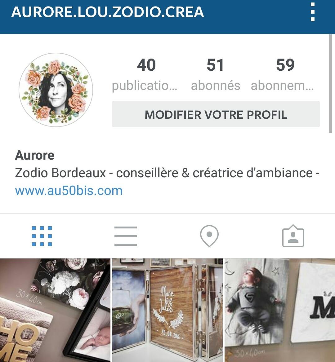 Retrouvez-moi sur Instagram!
