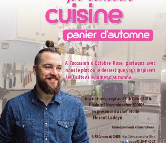 OCTOBRE ROSE 2016 : 3ème édition du jeu-concours de cuisine