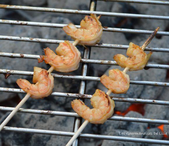 Crevettes au Miel