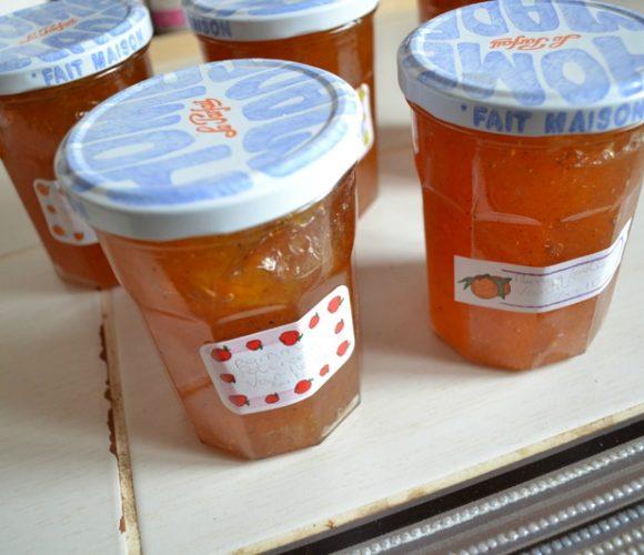 Confiture «HALLOWEEN» pommes potiron vanille