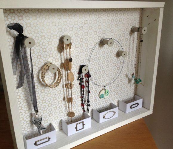 cadre porte-bijoux