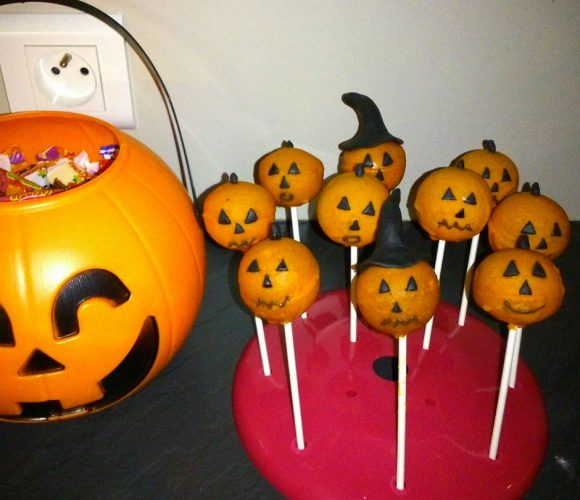 Mes popcakes Hallowen