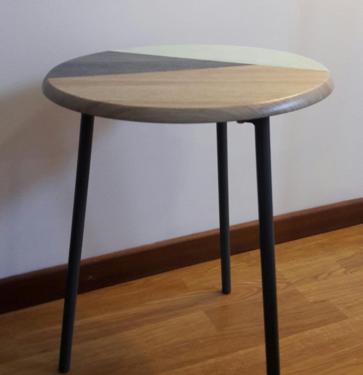 J 39 Ai Relook Ma Table Avec La Peinture Relook Tout Blog
