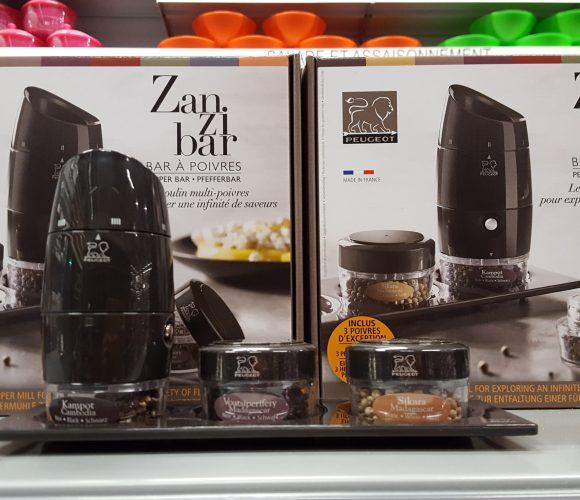 Idée cadeau : le Bar à poivres Zanzibar ;)