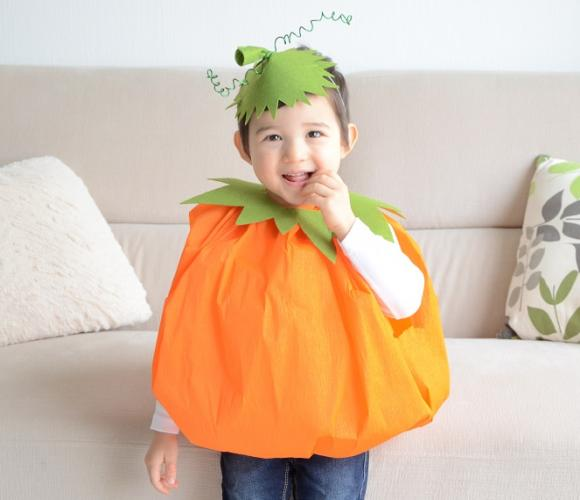 DIY : Mon déguisement de citrouille pour Halloween