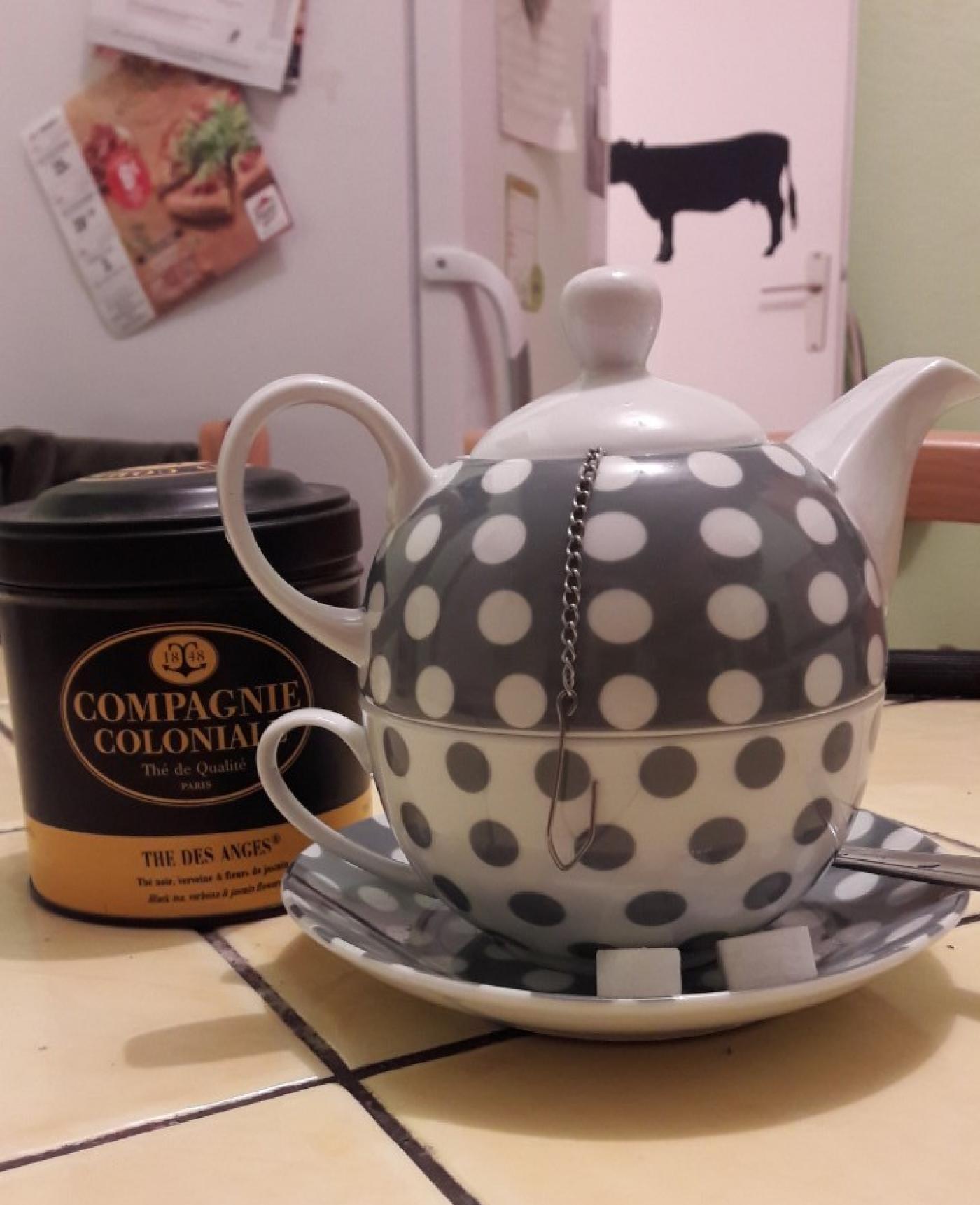 La tasse a thé