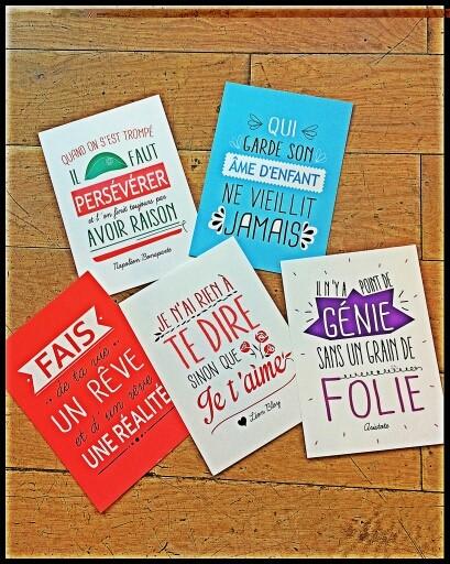 Des cartes trés spéciales !!!