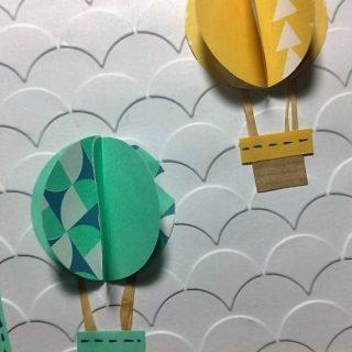 Carte montgolfière