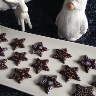 J'ai testé pour vous le moule Etoiles en Chocolat de chez ScapCooking