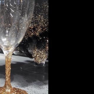 Des verres Bling Bling pour mes invités