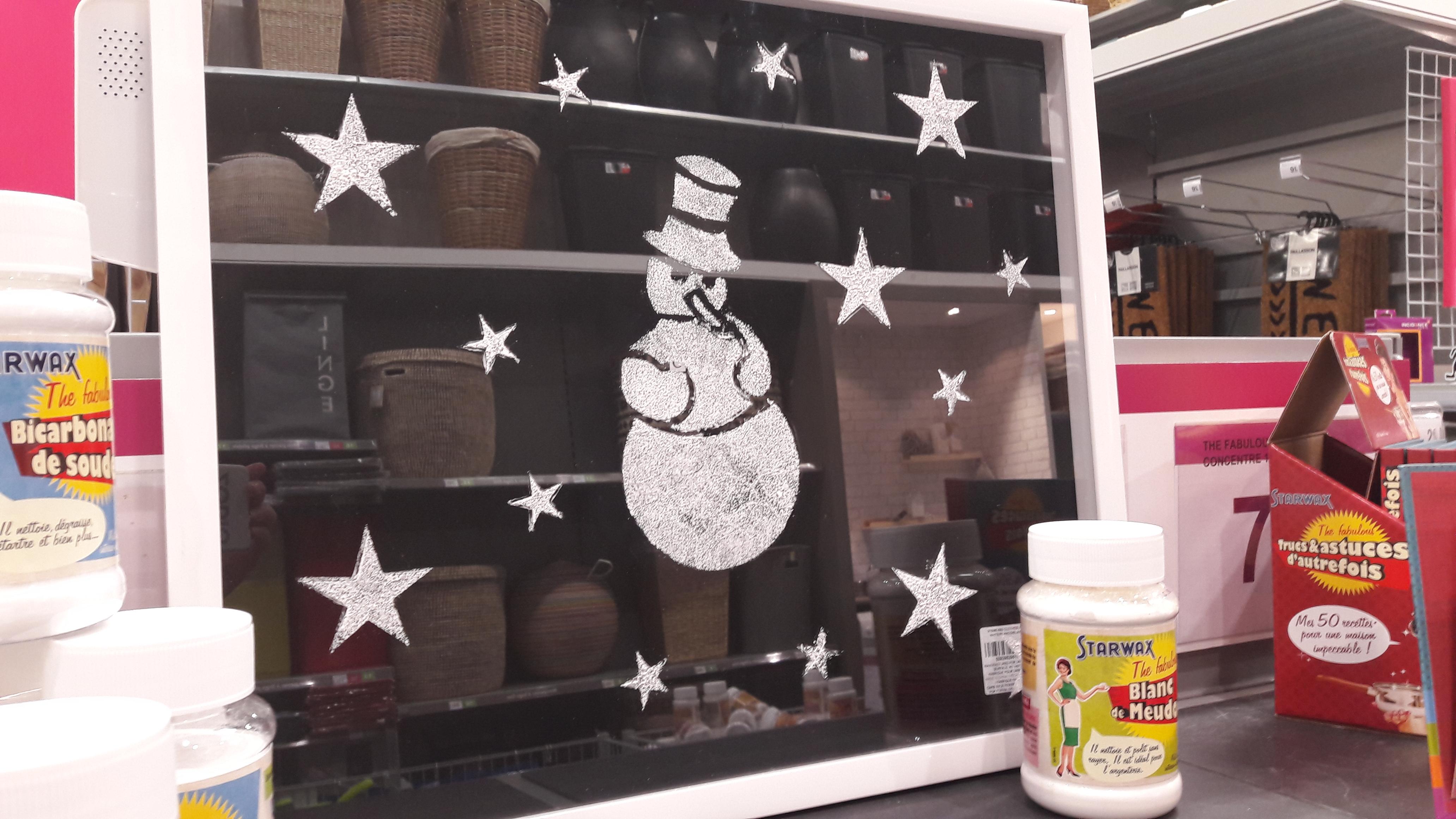 J'ai testé pour vous le blanc de meudon pour vos décors de fenêtres