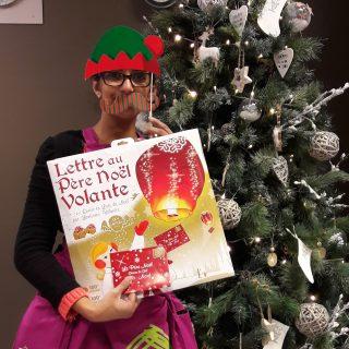 J'ai choisi pour mon fils la Lettre au Père Noël Volante de chez RUBEE COMPANY