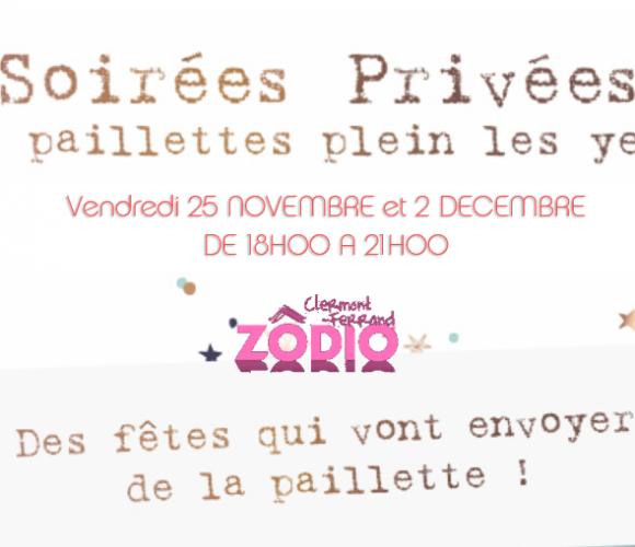 SOIREES PRIVEES SPECIALES NOEL vendredi 2 décembre de 18h00 à 21h00