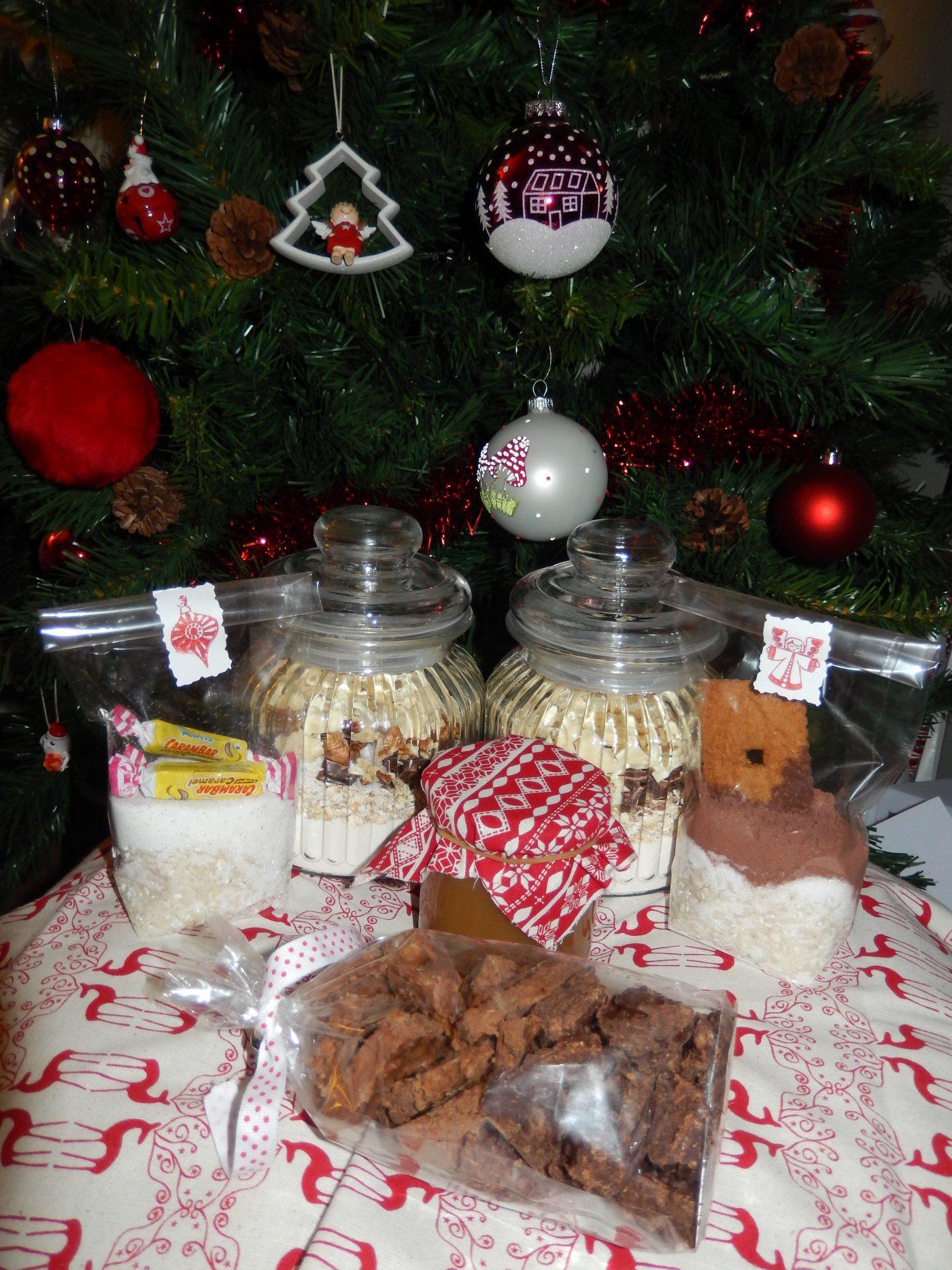 Coffret gourmand pour Noël