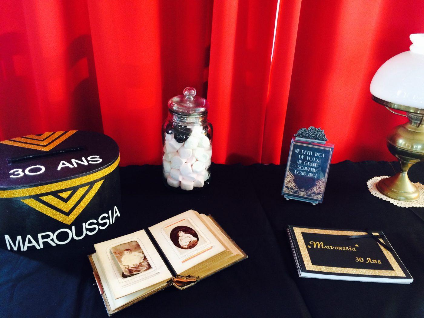Urne et livre d'or petit budget