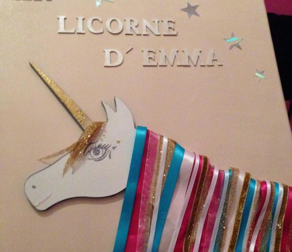 Tableau Licorne
