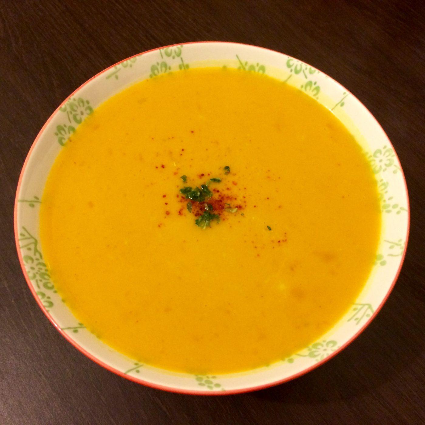 Soupe potiron lait de coco curry blog z dio - Soupe potiron lait de coco curry ...