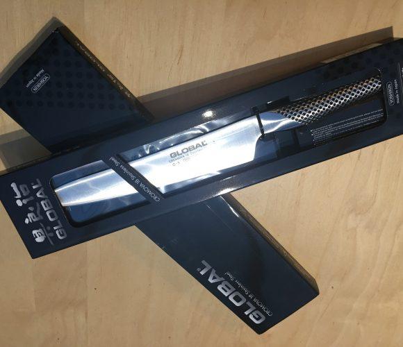 J'ai testé pour vous le couteau Global G3
