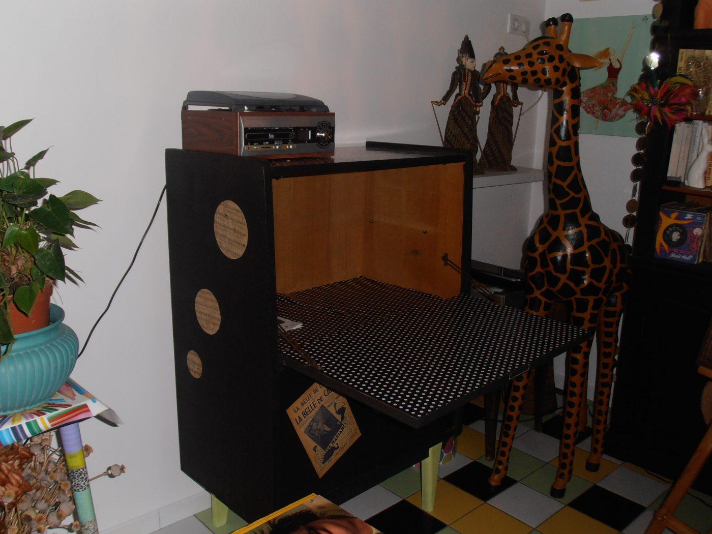atelier rénovation transformer un secrétaire en meuble musique