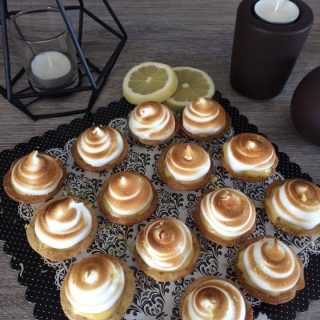 Tartelettes citron meringuées (Mignardises)