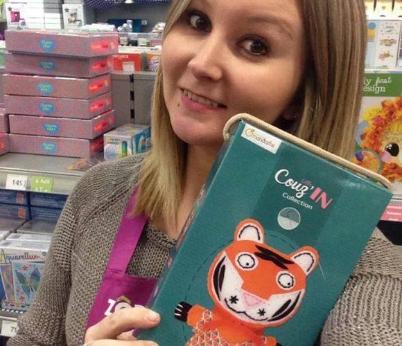 J'ai choisi pour mon petit cousin, la peluche «Little Couz'IN» à faire soi-même !