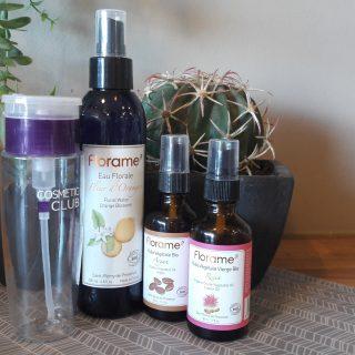 Lotion démaquillante pour tous types de peaux avec les produits FLORAME