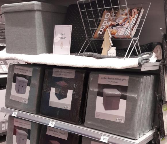 Le coffre-assise : une chouette idée cadeau à petit prix !!!