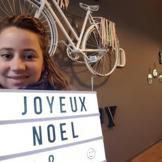 J'ai choisi pour ma soeur Lucie la LIGHTBOX !