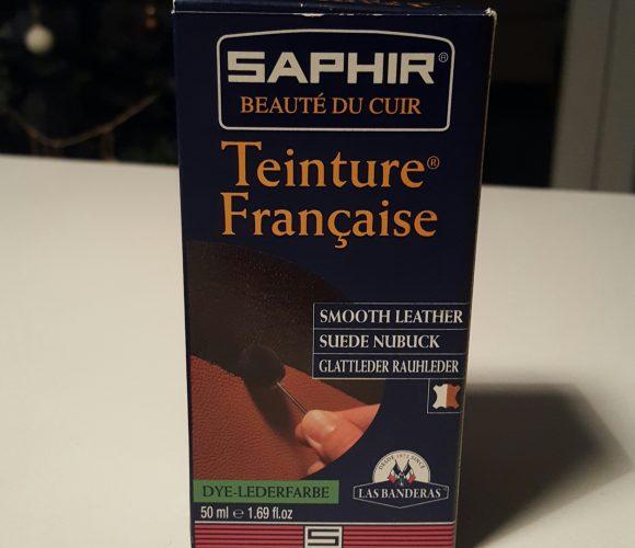 J'ai testé pour vous la teinture française bordeaux de Saphir !