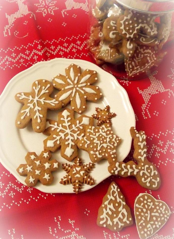 Biscuits de Noël au pain d'épices