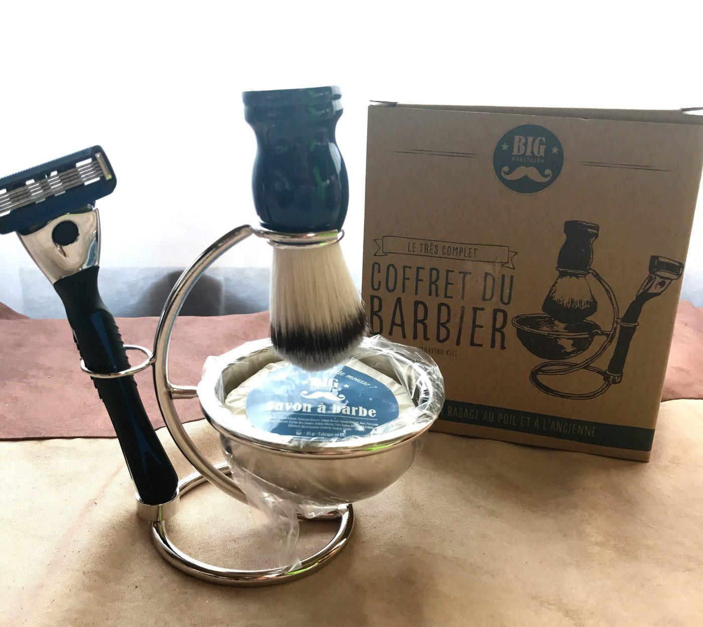 Le cadeaux de noël pour nos Hommes ... Le coffret du Barbier !