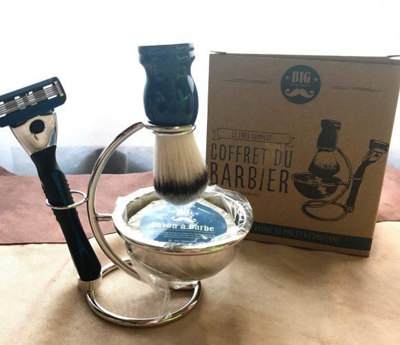 Le cadeaux de noël pour nos Hommes … Le coffret du Barbier !