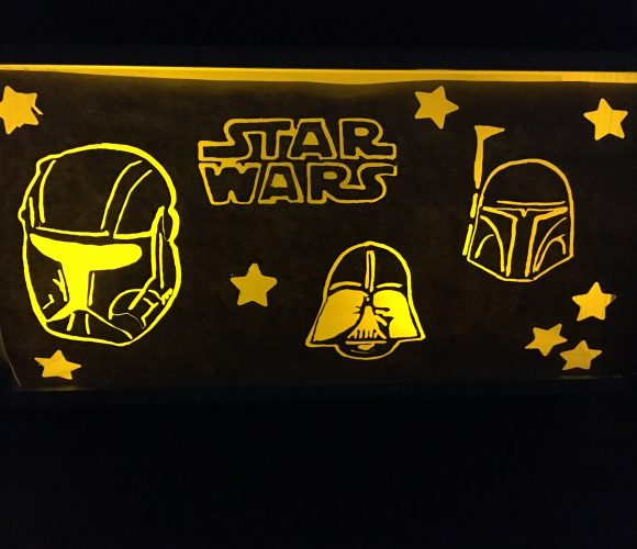 Light box Star Wars