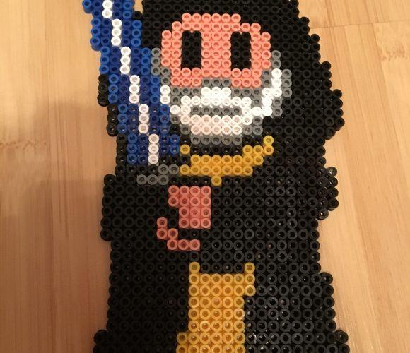 Obi wan Star Wars en perles Hama
