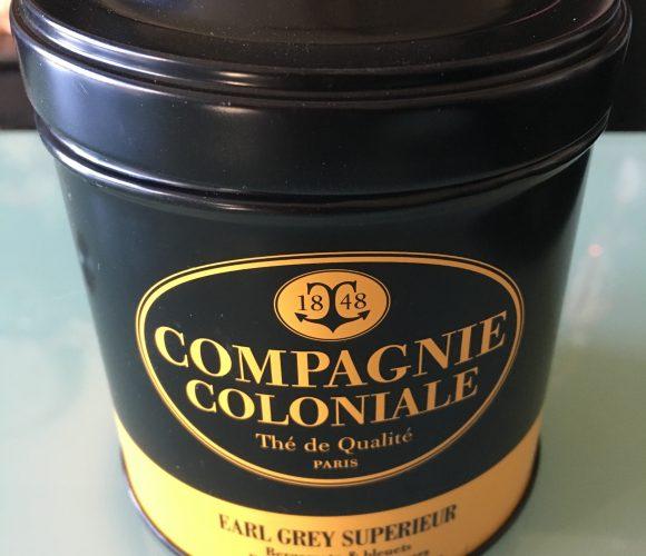 J'ai testé pour vous le thé Compagnie Coloniale Earl grey superi