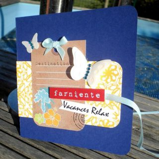 Scrap mini album « Vacances relax » !