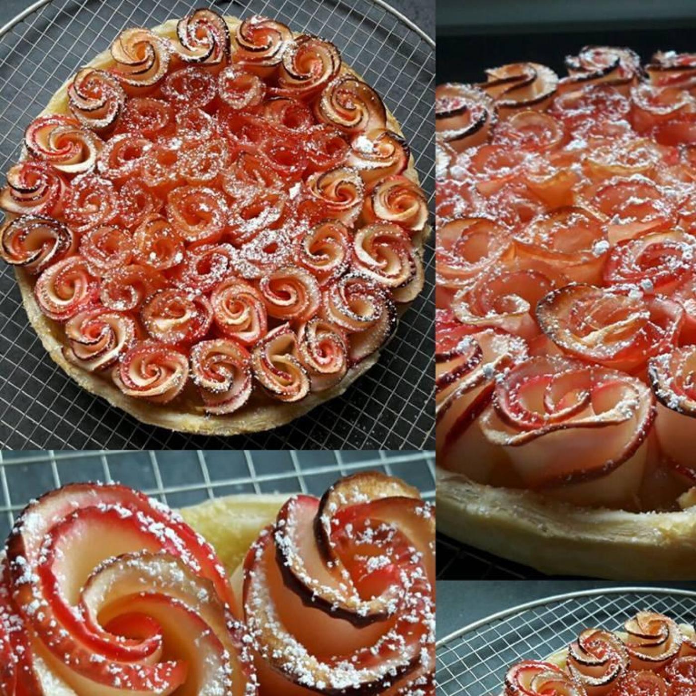 Tarte aux Pommes (rose)